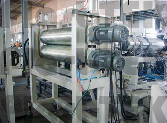 shifer-pvc-asa-pmma-composite-tile-extrusion-line-8