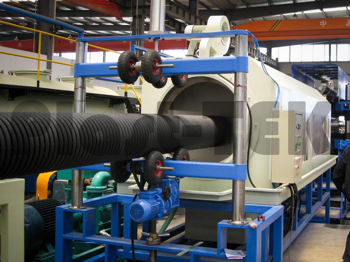 Линии серии FBWG для производства двустенных гофрированных труб из HDPE (1)