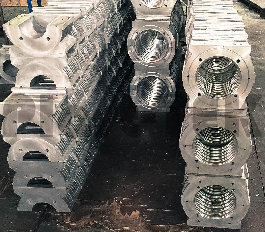 Линии серии FBWG для производства двустенных гофрированных труб из HDPE (5)