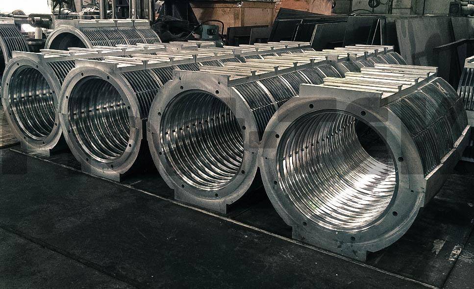 Линии серии FBWG для производства двустенных гофрированных труб из HDPE (6)