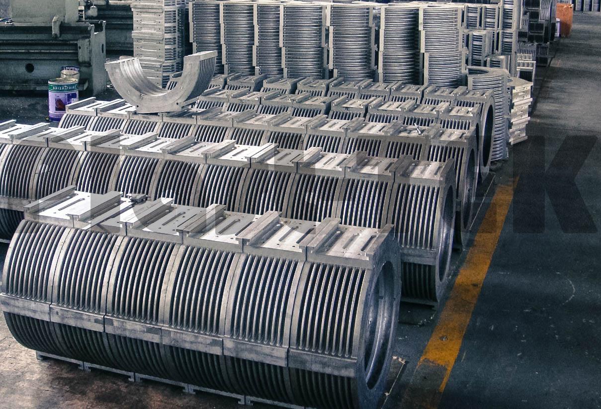 Линии серии FBWG для производства двустенных гофрированных труб из HDPE (7)