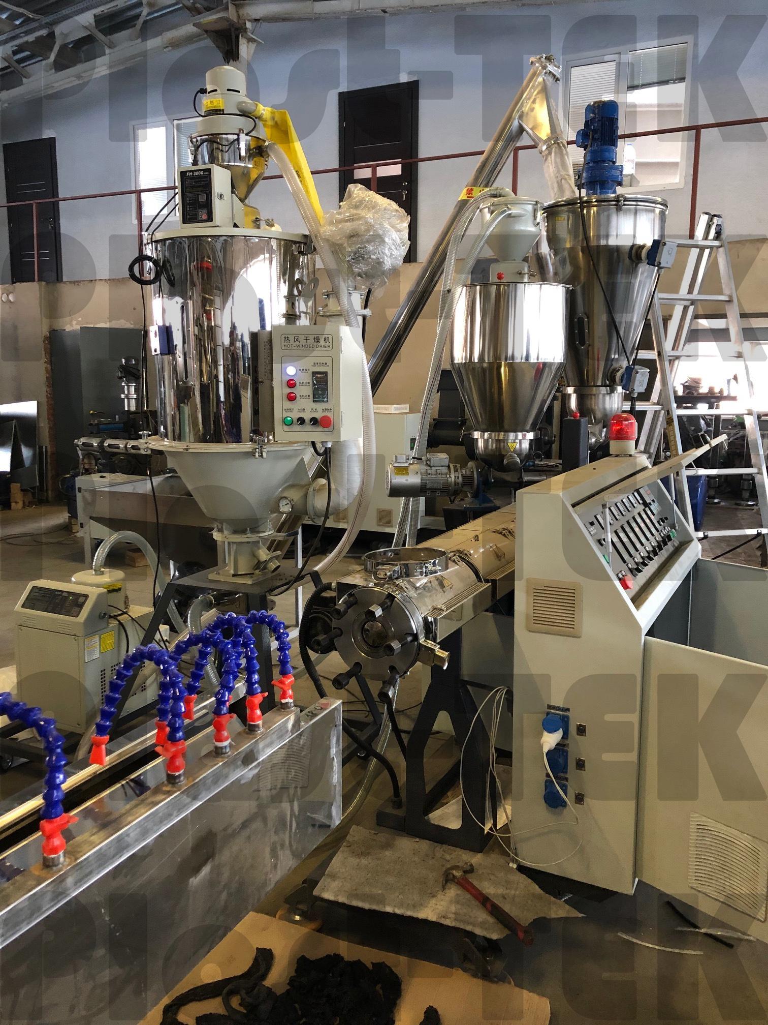 Plast-TEK изготовили новую линию для производства шлангов для капельного орошения