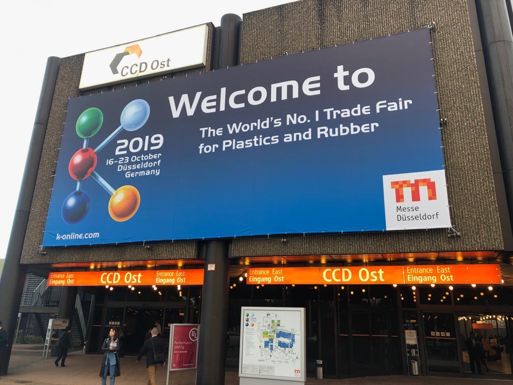 Международная специализированная выставка пластмасс и каучука K 2019, Messe Dusseldorf